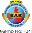 The British Association of Removers logo